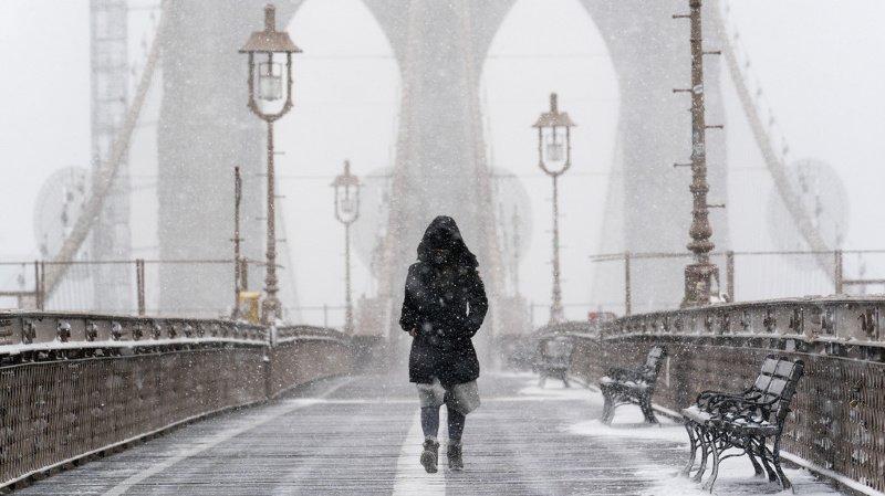 Météo: le nord-est des Etats-Unis pris dans une tempête de neige
