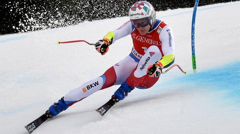 Ski alpin: Marco Odermatt sur le podium du super-G de Garmisch