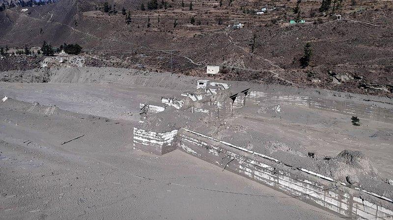 Rupture d'un glacier dans l'Himalaya: au moins 7 morts et plus d'une centaine de disparus