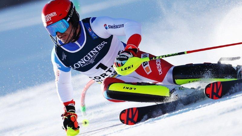 Ski alpin - Mondiaux de Cortina: Loïc Meillard remporte la médaille de bronze au slalom parallèle