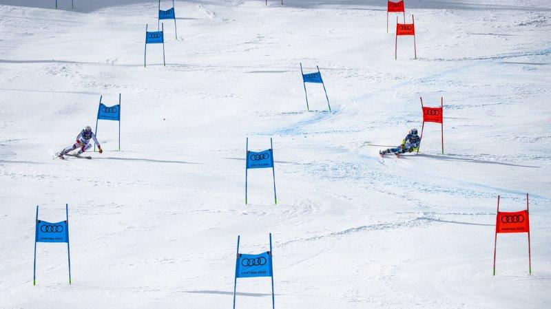 Wendy Holdener (g.) a été la meilleure dans le camp suisse.