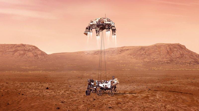 Espace: le rover Perseverance est arrivé sur Mars