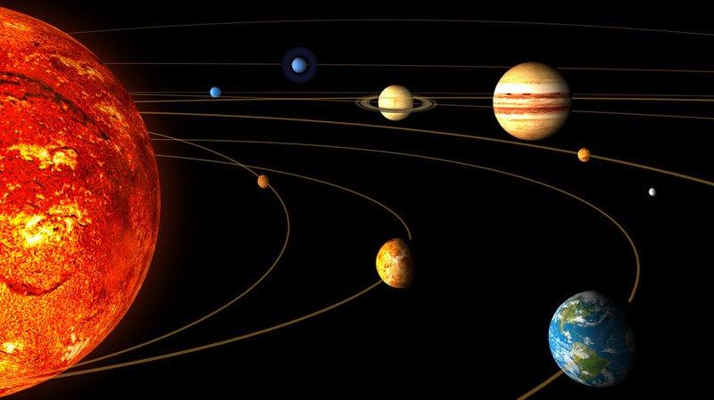 Selon une étude à laquelle a participé l'Ecole Polytechnique Fédérale de Zurich, le système solaire se serait formé en deux fois (illustration).