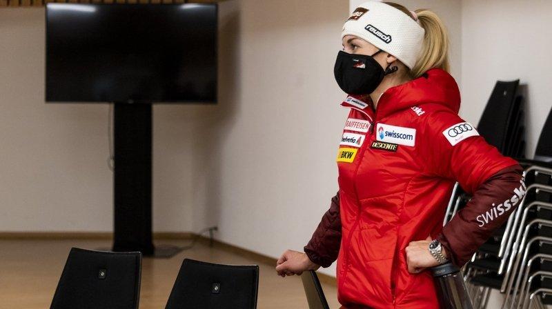 Ski alpin: Lara Gut-Behrami critique les conditions de Crans-Montana, là où Suter et Gisin relèvent l'énorme travail réalisé