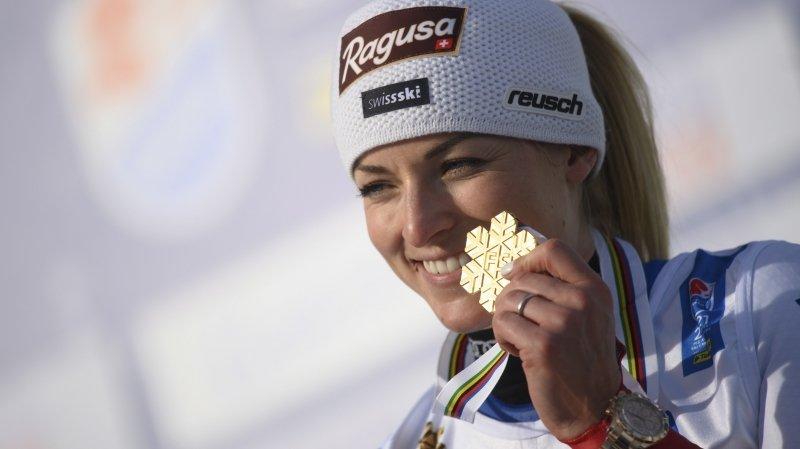 Lara Gut-Behrami, après son titre de championne du monde: «Gagner une médaille en géant a toujours été un rêve»