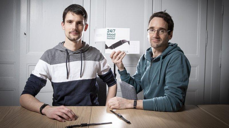 Hypertension: le bracelet électronique neuchâtelois Aktiia, une première mondiale