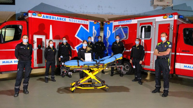Une nouvelle distinction pour les ambulanciers neuchâtelois