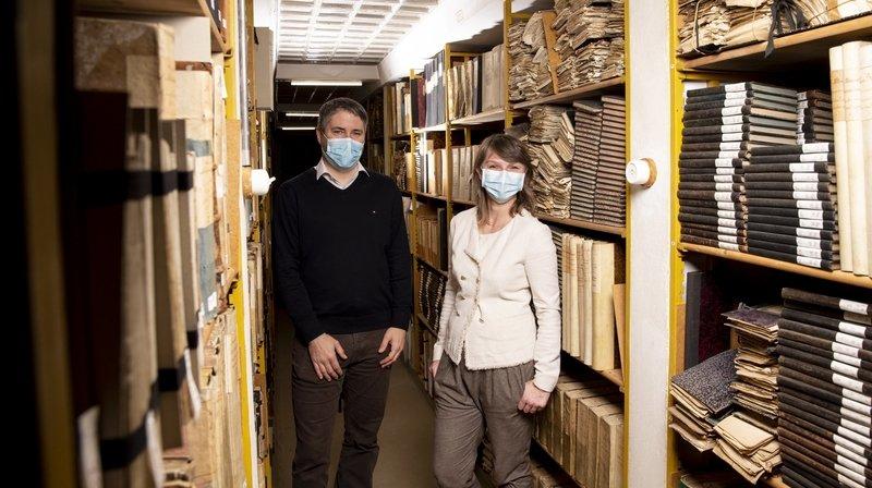 Les archives de l'Etat déménageront à La Chaux-de-Fonds