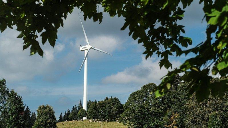 Trois éoliennes supplémentaires dans le Jura bernois?