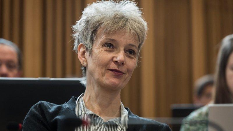 Nathalie Schallenberger candidate du Centre au Conseil d'Etat