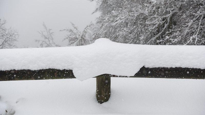 Météo: la neige s'invite partout dans le canton de Neuchâtel