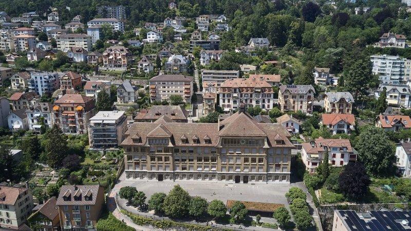 Le chantier du collège des Parcs prend du retard à Neuchâtel