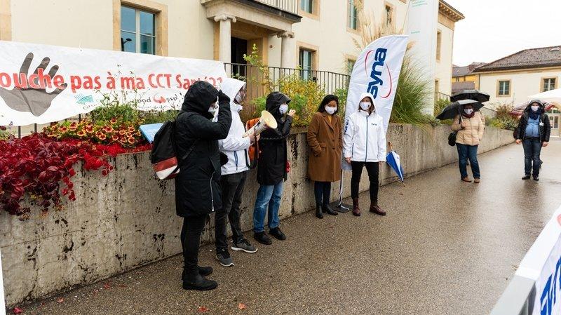 Neuchâtel: négociations suspendues pour la convention collective de travail de la santé