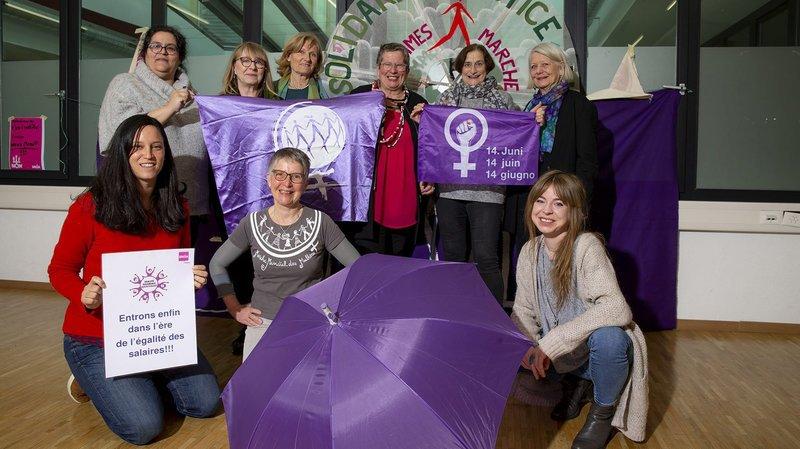 Grève féministe à Neuchâtel le 6février 2021