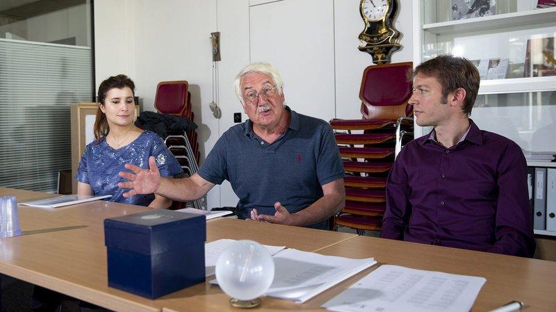 En 2019, l'historien Laurent Tissot (au centre) a notamment été distingué par le prix Gaïa.