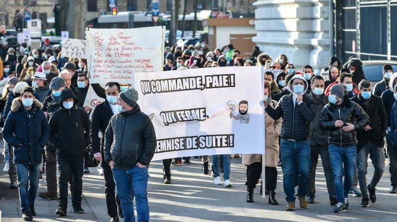 Covid: la population neuchâteloise invitée à manifester en soutien aux commerçants
