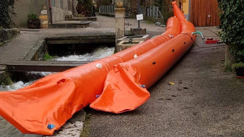 Pluies: «fort risque d'inondations» à Saint-Blaise