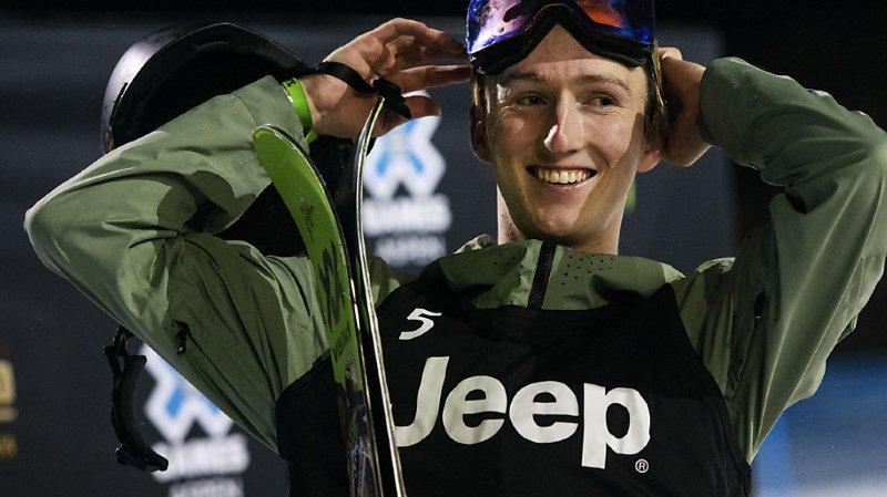 Ski freestyle: Andri Ragettli a remporté l'épreuve du Big Air des X-Games d'Aspen