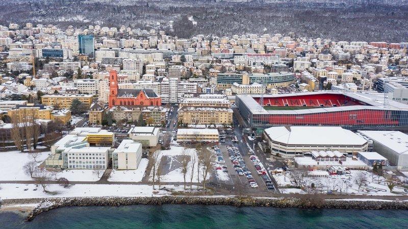 Pas un, mais deux nouveaux bâtiments pour l'Université de Neuchâtel