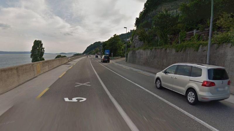 Un blessé dans une collision frontale entre une voiture et un camion à Douanne