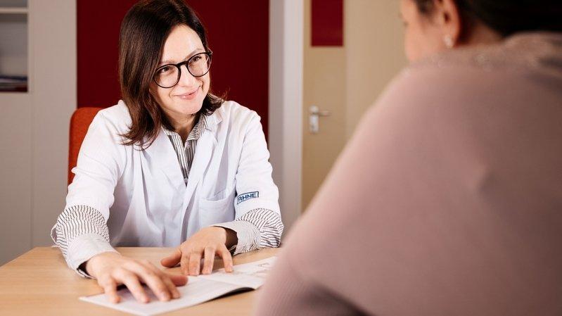 La doctoresse Cristina Manea, responsable de la Consultation ménopause qui démarre début mars.
