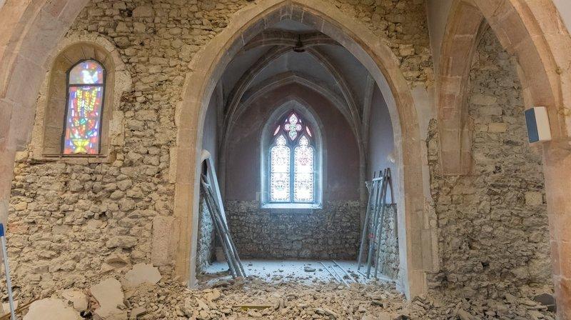 Au chevet des vieilles pierres de l'église de Môtiers