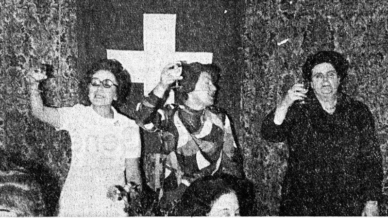 En 1971, le droit de vote est enfin octroyé aux Suissesses