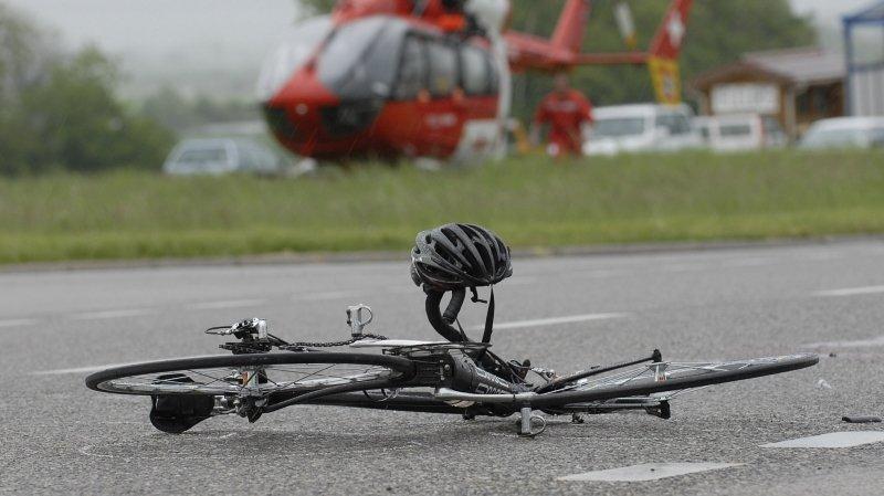 Deux cyclistes accidentés sur des cols de la région