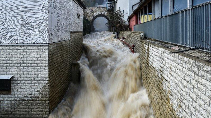 Les eaux montent: prudence dans le canton de Neuchâtel