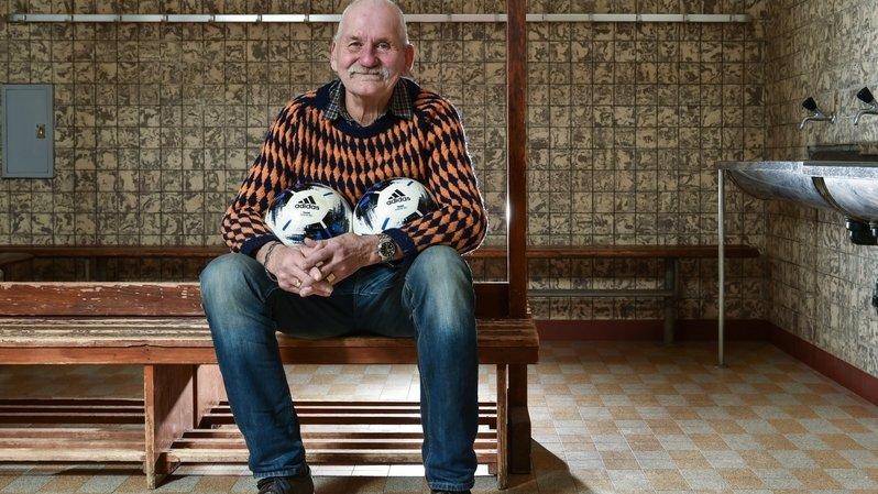"""""""Poupia"""", un surnom, une vie au service du football chaux-de-fonnier"""