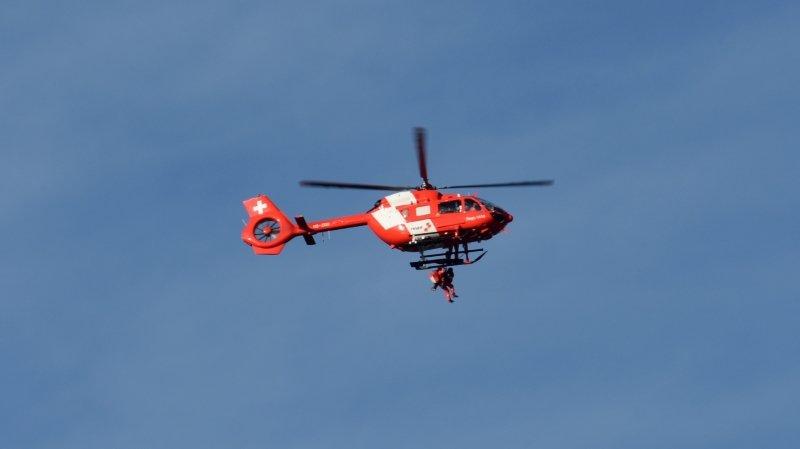 Gorges du Seyon: une randonneuse blessée évacuée par hélicoptère