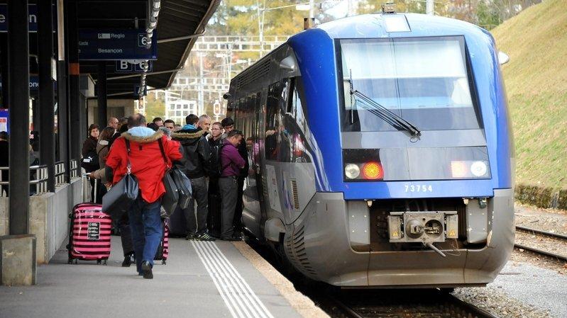 Cinquante-cinq millions pour la ligne de train des horlogers, la fin du Régional aux Brenets