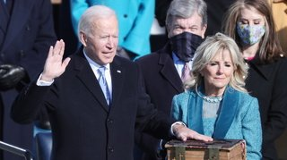 Joe Biden, investi 46e président des Etats-Unis, appelle l'Amérique à «l'unité»