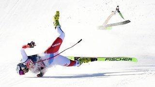 Ski alpin: Urs Kryenbühl sévèrement blessé après sa chute lors de la descente de Kitzbühel