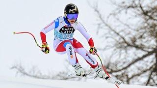 Ski alpin: Lara Gut-Behrami termine 2e de la 2e descente de Crans-Montana, Jasmina Suter 6e