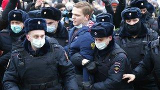 Russie: heurts lors de rassemblements de soutien à l'opposant Navalny