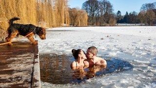Cascade gelée, nouvel an chinois, Saint-Valentin en Egypte: la galerie photos du 14 février 2021