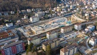 Friche Metalor à Neuchâtel: d'une grande usine à un vaste chantier