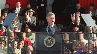 En 1996, Bill Clinton en course pour une réélection