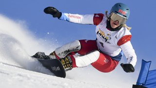 Snowboard: Julie Zogg s'impose en slalom parallèle en Russie