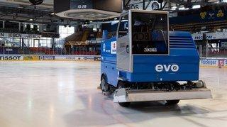 La Chaux-de-Fonds: les secrets de la fabrication et de l'entretien de la glace des Mélèzes
