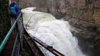 Janvier2021: il a rarement plu autant depuis 1981 dans le canton de Neuchâtel