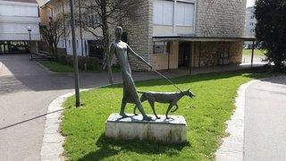 Interpellé alors qu'il volait une statue au collège de Delémont