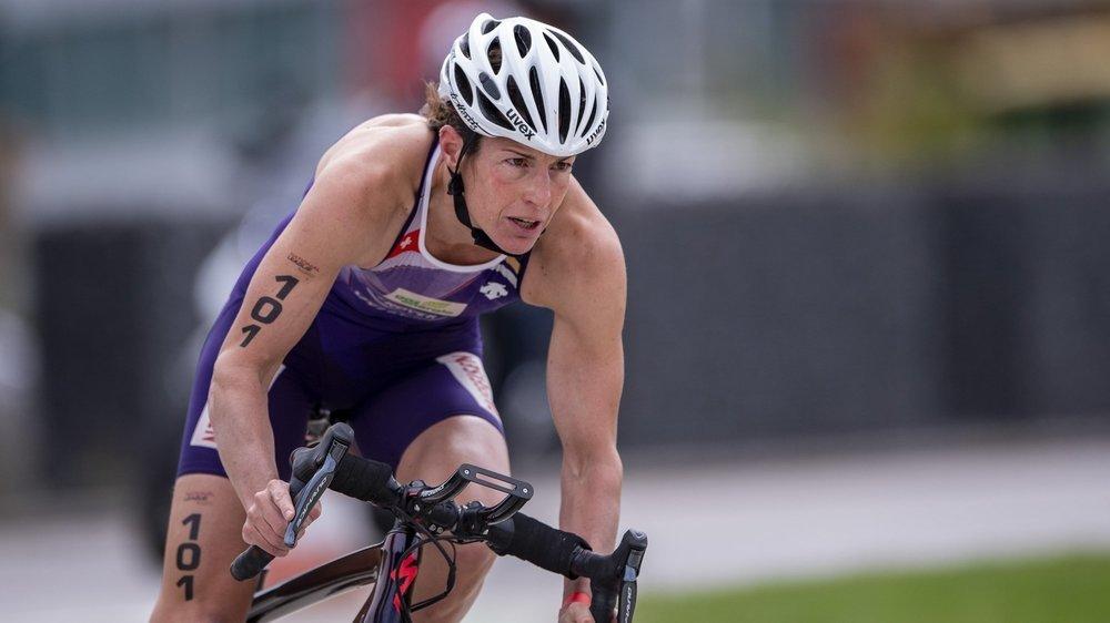 C'est en vélo que Nicola Spirig pense avoir le plus de temps à gagner sur un Ironman.