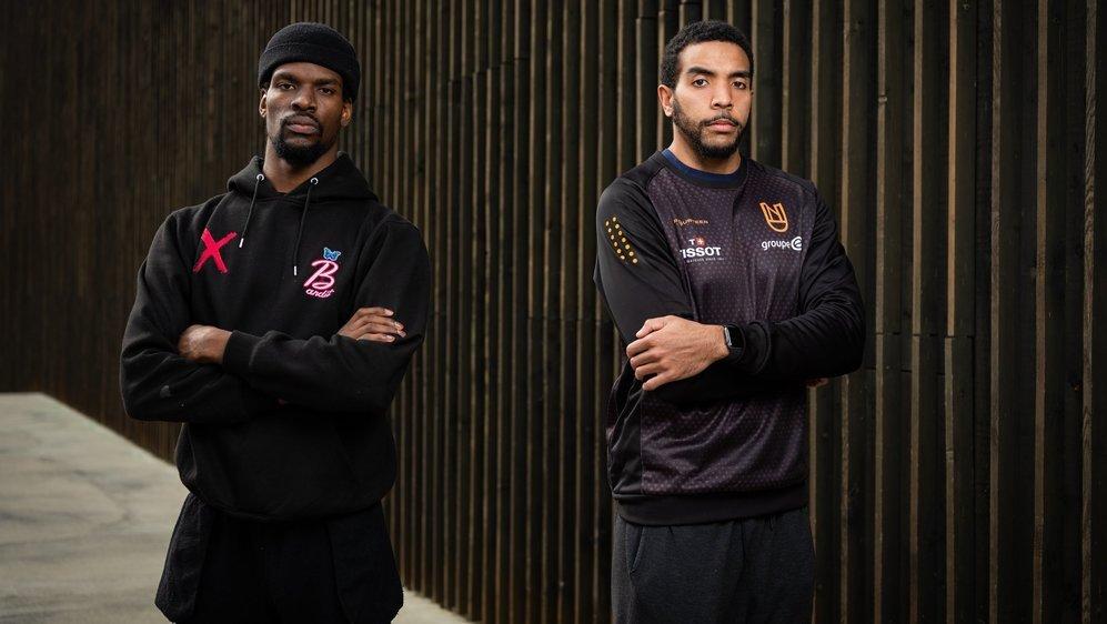 Xavier Ford (à gauche) et Eric Carter (à droite) enchaînent les bonnes performances depuis leur arrivée au club du Littoral.