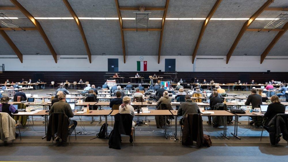 Le Grand Conseil siège à nouveau à La Chaux-de-Fonds, comme c'était le cas ici, en janvier dernier.
