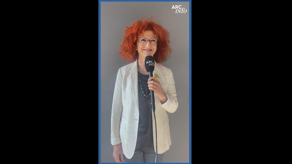 """Ce mercredi, c'est Brigitte Leitenberg qui a répondu aux """"Questions pour une élection""""."""