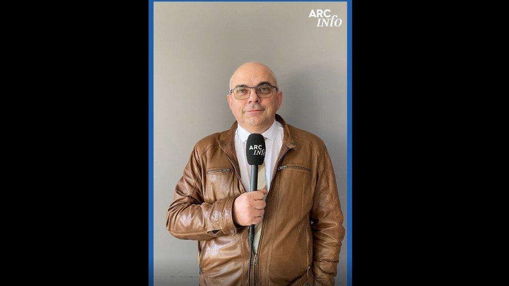 Ce jeudi, c'est le candidat UDC Grégoire Cario qui se livre à cet exercice délicat.