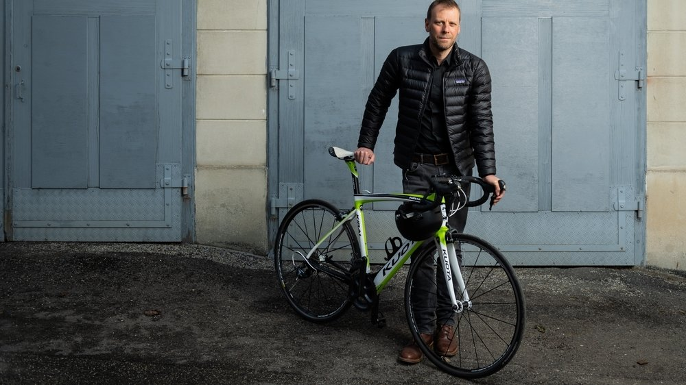 Fabien Fivaz est prêt à défendre la cause cycliste au Parlement.