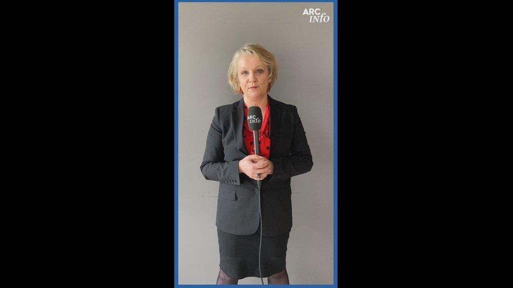 """Ce vendredi, c'est la socialiste Florence Nater qui répond à """"Questions pour une élection""""."""